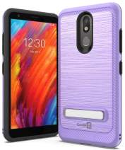 CoverON Metal Kickstand SleekStand Series for LG Aristo 4 Plus Case/LG Prime 2 Case, Lilac Purple