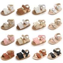 Babelvit Baby Girls Boys Premium Rubber Sole Summer Sandals Infant Bows Flower Tassel Soft Shoe Anti Slip Outdoor Beach Princess Flats Toddler First Walking Shoes
