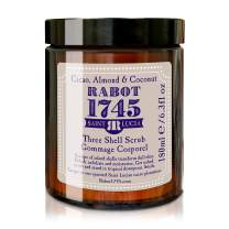 Rabot 1745 Beauty | Body Scrub and Wash 200ml | 100% Natural & Organic | Made with Cacao, Almond, and Coconut Butter with Sea Shells | Exfoliating & Soften Skin Care