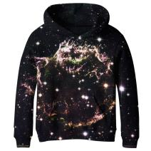 SAYM Boys' Teen Youth Galaxy Fleece Sweatshirts Pockets Cotton Hoodies 4-16Y