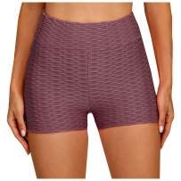 Famous TIK Tok Leggings, Women High Waisted Tummy Control Yoga Shorts Anti Cellulite Butt Lifting Hot Pants Tights