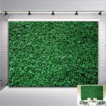 Nature Grass Spring Safari Photography Backdrop Birthday Party Banner Vinyl 7x5ft Green Leaves Wedding Bridal Shower Photo Background Decorations Photo Booth Studio Props Cake Table Supplies