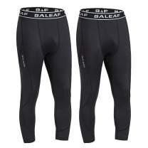 BALEAF Men's Compression Pants Running Tights Sports Leggings Quick Dry Baselayer