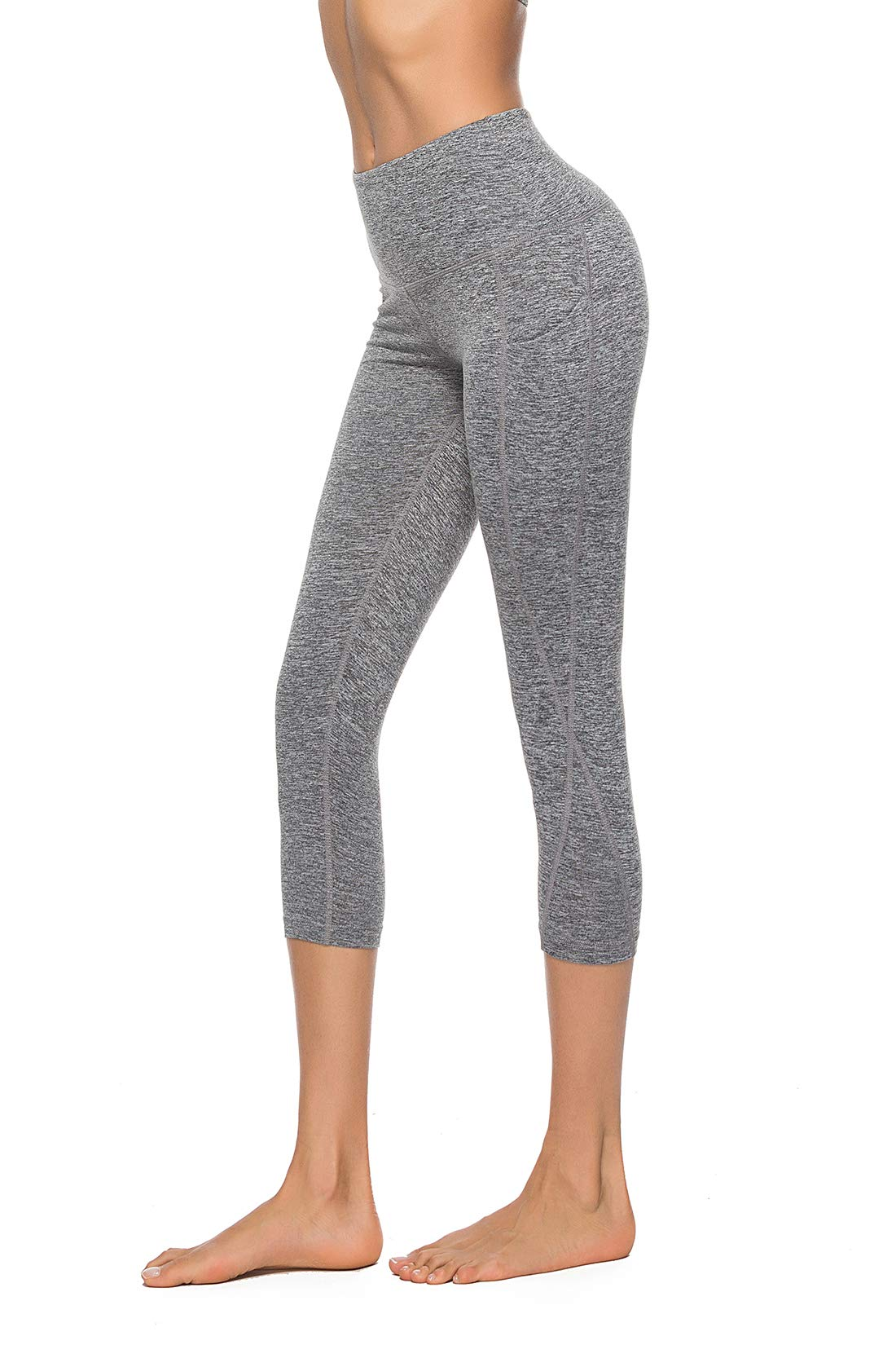 ZOANO Women's High Waist Yoga Pants with Pocket Workout Athletic Leggings