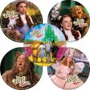 SmileMakers The Wizard of Oz Stickers - Prizes 100 per Pack