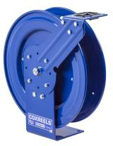"Coxreels P-LPL-350 Low Pressure Retractable Air/Water/Oil Hose Reel: 3/8"" I.D., 50' Hose Capacity, without Hose, 300 PSI, Made in USA"