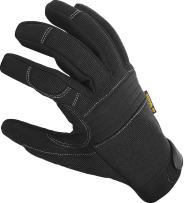Durable Padded Work Gloves with Anti Vibrant Firm Grip, Touch Screen Tip; Comfortable Protective Workwear