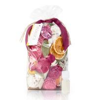 ANDALUCA Forbidden Flower Oasis Scented Potpourri   Made in California   Large 20 oz Bag + Fragrance Vial   Scents of Italian Bergamot, Plum, Jasmine, Rose and Lilac