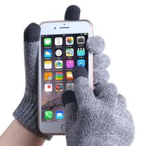 EvridWear Unisex Antipilling Chenille Gloves, Smartphone Touch Screen Gloves For Running Outdoor