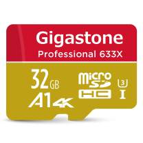 Gigastone 256GB Micro SD Card, Gaming Focus, A1 U1 C10 Class 10, Full HD available, Micro SDXC UHS-I Memory Card with adapter
