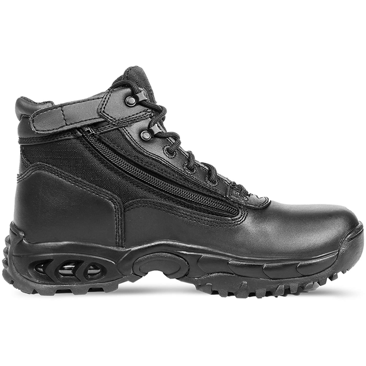 "Ridge Footwear 8003ST Men's 6"" Air-Tac Leather Steel Toe Tactical Work Boot"