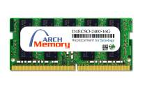 Arch Memory Replacement for Synology D4ECSO-2400-16G 16 GB DDR4-2400 PC4-19200 260-Pin ECC So-dimm RAM for DS1618+