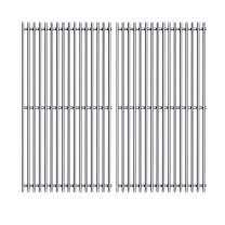 Votenli S5064B(2-Pack) Stainless Steel Cooking Grid Grates Replacement for Brinkmann 810-3330-S, 810-3331-F