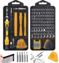 New 130 in 1 Mini Screwdriver sets Magnetic, Hevanto Professional Precision Screwdriver Tools Sets, Repair for PC/Mobile Phone/Mobile Phone Case/Computer/Camera/Eyeglasses/Watch Hand Work