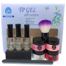 Dip Powder Nail Kit. Complete gel dipping color powders. 1 oz. per jar