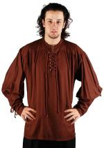 ThePirateDressing Medieval Poet's John Coxon Cosplay Costume Pirate Shirt C1004