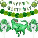 57 Pack Dinosaur Birthday Party Decorations Kit, Dinosaur Party Supplies Dino Party Favors,Baby Shower, dinosaur party favors Dinosaur party balloons ,All-Inclusive Decor Pack