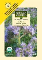 Seeds Of Change 8174 Certified Organic Lacy Phacelia