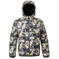 Men's Lightweight Water-Resistant Hooded Puffer Jacket Coat