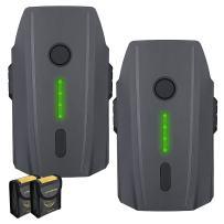 Powerextra Mavic Pro Battery, 2-Pack 11.4V 3830 mAh LiPo Intelligent Flight Battery + Battery Safe Bag Replacement for DJI Mavic Pro & Platinum & Alpine White Drone (Not Fit for Mavic 2)