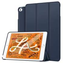 "MoKo Case Fit New iPad Mini 5th Generation 7.9"" 2019/iPad Mini 4 2015 - Lightweight Smart Slim Shell Stand Cover Premium PU Leather Folio Case with Auto Wake/Sleep - Indigo"