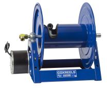 "Coxreels 1125-4-450-E  Electric 12V DC 1/3HP Motor Rewind Hose Reel: 1/2"" I.D., 450' hose capacity, less hose, 3000 PSI"