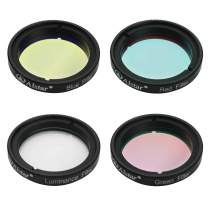 Alstar Deluxe Telescope LRGB 1.25 Inch Filter Set - Give Stunning Astrophotographic Results