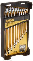 DEWALT Combination Wrench Set, SAE/MM, 10 Piece (DWMT72167)