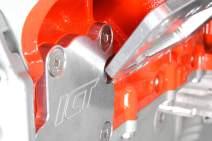 ICT Billet Gen V LT Vacuum Pump Flange Cover Plate Adapter For Oil Galley Flange Compatible with LT1 LT2 L82 L83 L83 L84 L86 L87 L8B LT4 LT5 Made in the USA 551123