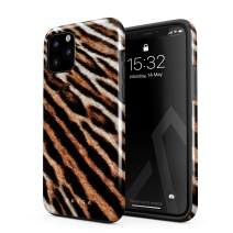 BURGA Phone Case Compatible with iPhone 11 PRO - Golden Wildcat Savage Wild Tiger Pattern Leopard Cheetha Cute Case for Girls Heavy Duty Shockproof Dual Layer Hard Shell + Silicone Protective Cover