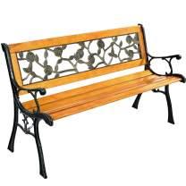 Park Bench Garden Metal Outdoor Furniture Benches for Patio Yard