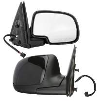 Dependable Direct Heated Mirrors for 02-03 Avalanche, 01-02 Silverado