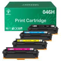 GREENSKY Compatible Toner Cartridge Replacment for Canon 046 046H for Canon Color ImageCLASS MF735Cdw LBP654Cdw MF731Cdw MF733Cdw Laser Printer (4 Pack)