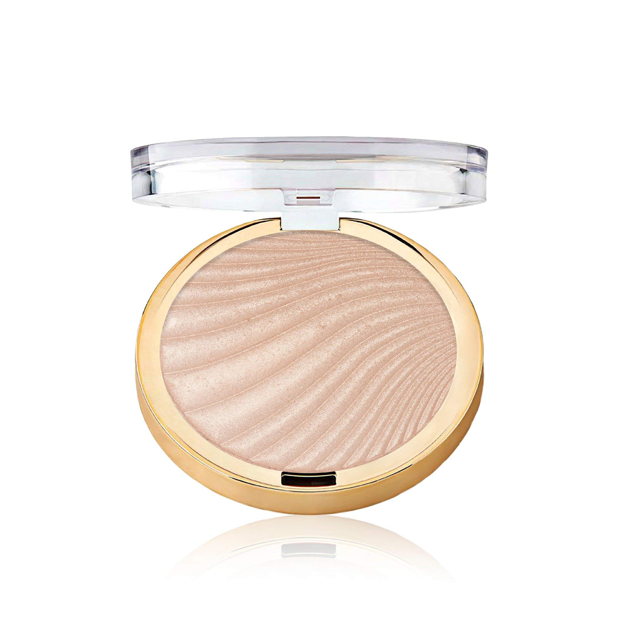 Milani Strobelight Instant Glow Powder - Afterglow (0.3 Ounce) Vegan, Cruelty-Free Face Highlighter - Shape, Contour & Highlight Features with Shimmer Shades
