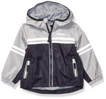 LONDON FOG Boys' Big Chest Stripe Poly Lined Jacket