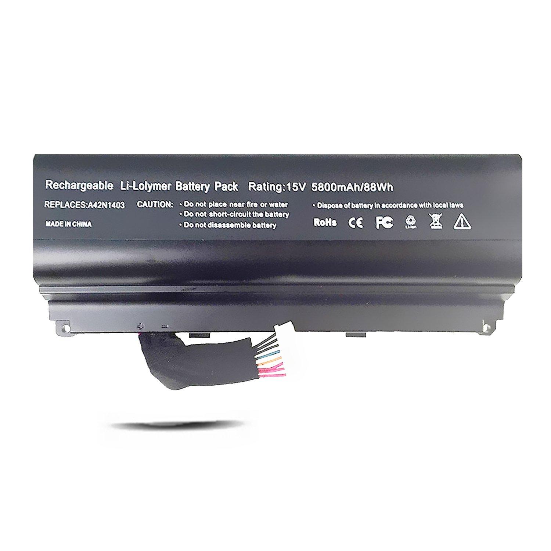 A42N1403 Battery for ASUS G751JT G751JY GFX71JT4710 GFX71JT4720 GFX71JY4860 [15V 88Wh Emaks