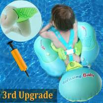 TURNMEON Baby Swimming Pool Float,Baby Floats Swim Training Aid with Safety Seat Double Airbag for Infant Baby Toddler Kid Age 6-30 Month Swim Float Swimming Pool Accessories(17.6-33lbs)
