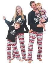 ZOEREA Matching Family Christmas Pajamas Boys Girls Toddler Kids Children Deer Pjs Women Men Sleepwear