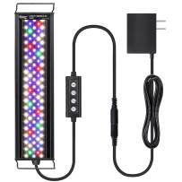 hygger Advanced Multi-Color Full Spectrum LED Aquarium Light with 24/7 Lighting Cycle Custom Color Intensity Fish Tank Light for 12-54 in Freshwater Planted Tank