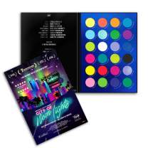 RUDE City of Neon Lights - 24 Vibrant Pigment & Eyeshadow Palette