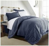 ienjoy Home Bed in a Bag, King, Navy
