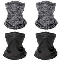 Cold Weather Neck Gaiter Shield Scarf Bandana Face Mask, Seamless UV Protection Headbands Face Cover Scarf