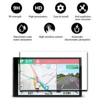"""YEE PIN RV 770 Screen Protector & Traffic GPS Navigator 6.95"""" Display Glass Screen Protector for RV 770 780 6.95 Inch Touch Screen Glass Protective Automatic Adsorption Scratch Resistance"""
