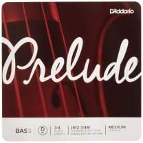 D'Addario Prelude Bass Single D String, 3/4 Scale, Medium Tension