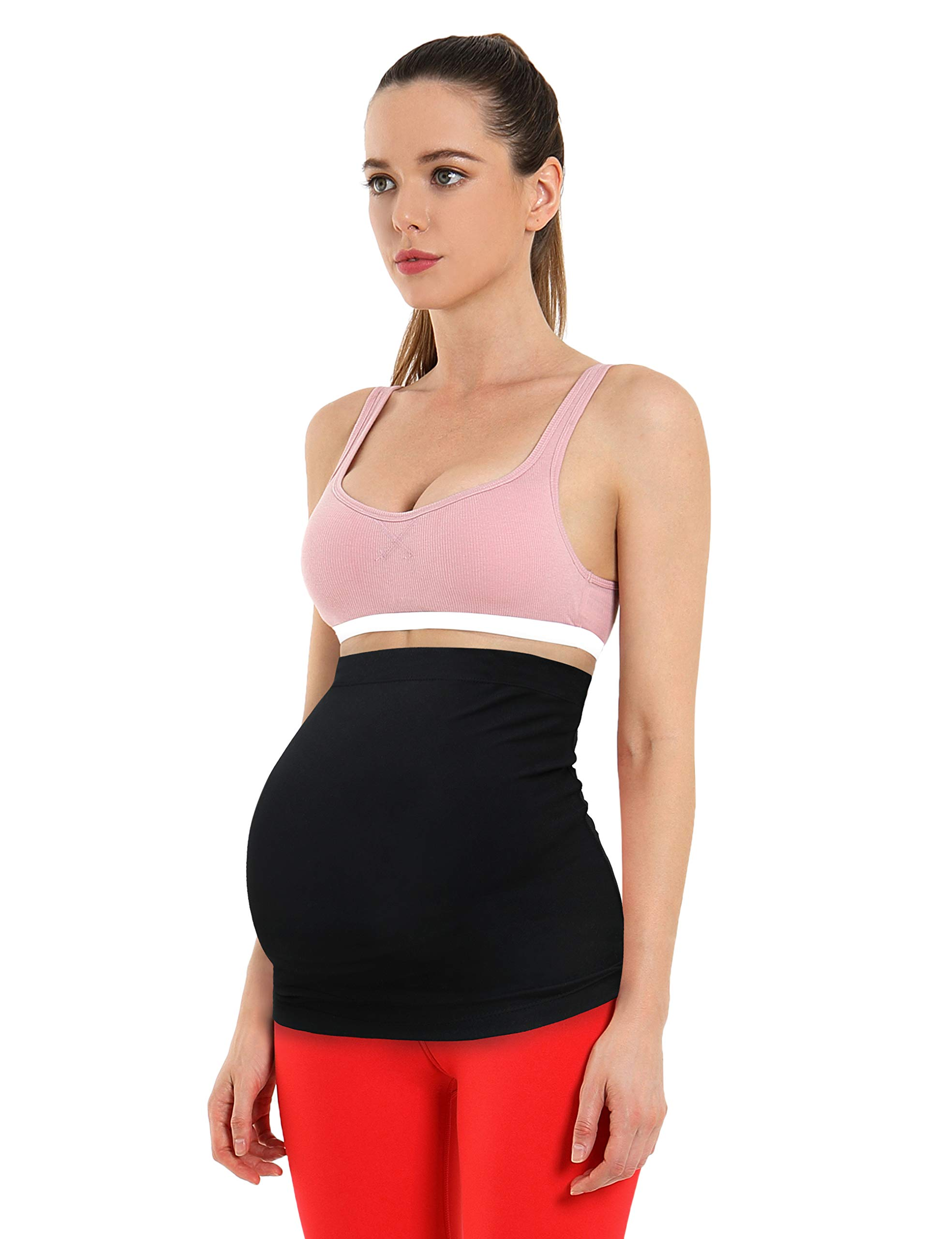 BUBBLELIME Women's Pregnancy Belly Band Soft Breathable Maternity Support for All Stages of Pregnancy and Postpartum