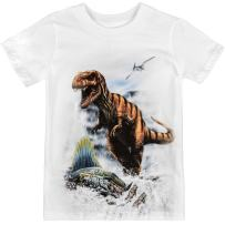 Shirts That Go Little Boys' Tyranosaurus Rex & Dimetrodon Dinosaur T-Shirt