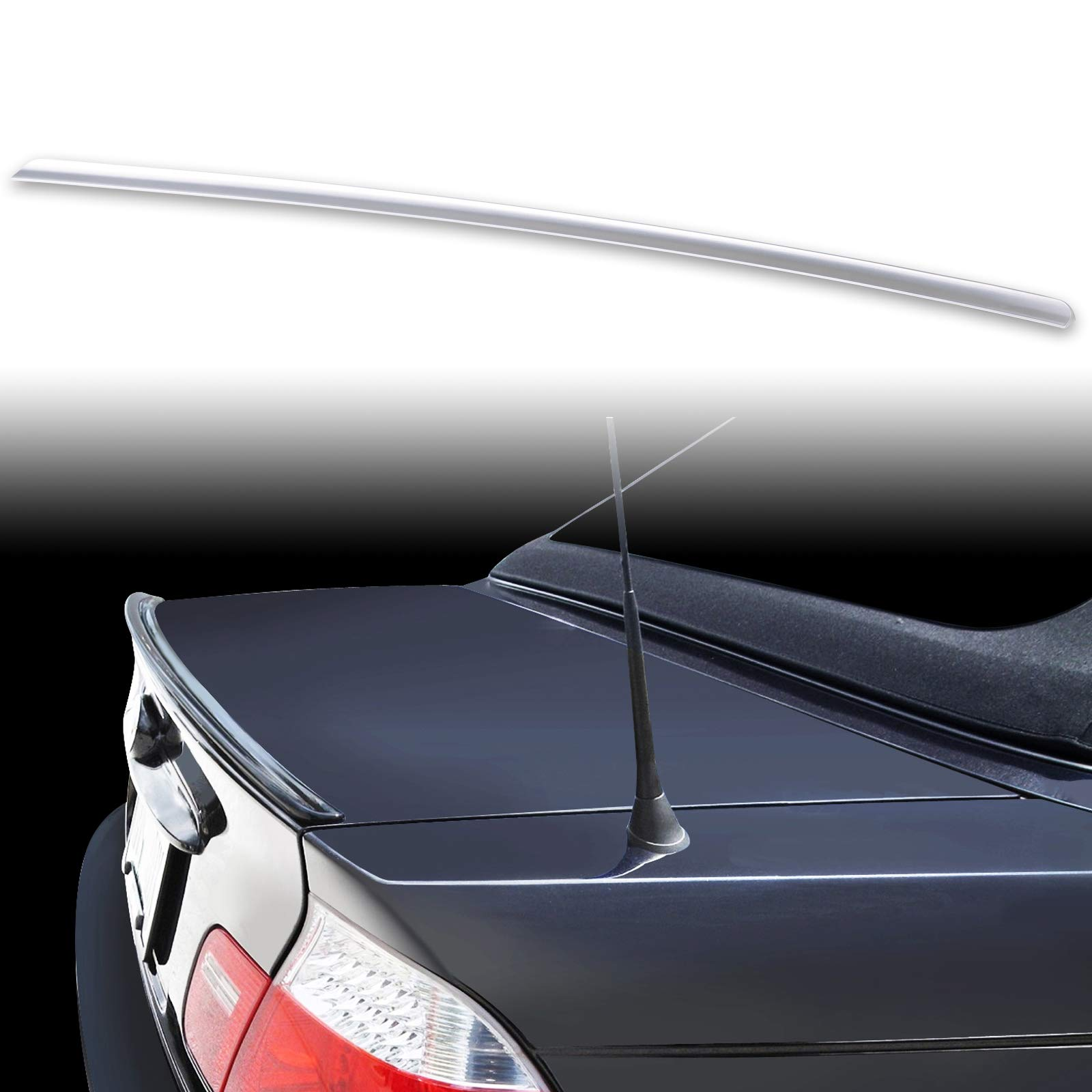 FYRALIP Painted Factory Print Code Trunk Lip Wing Spoiler For 2000-2006 BMW 3-Series E46 Convertible 2001-2006 E46 M3 Convertible Fast Delivery Easy Installation Perfect Fit- 416 Carbon Black Metallic