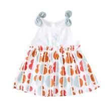 pureborn Baby and Toddler Girls' Cotton Dress