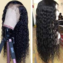 Arabella Human Hair Wigs 22 Inch 360 Lace Frontal Wig Brazilian Human Hair Pre Plucked With Baby Hair 360 Lace Wig Wet And Wavy Lace Front Wigs Human Hair 150% Density Natural Color