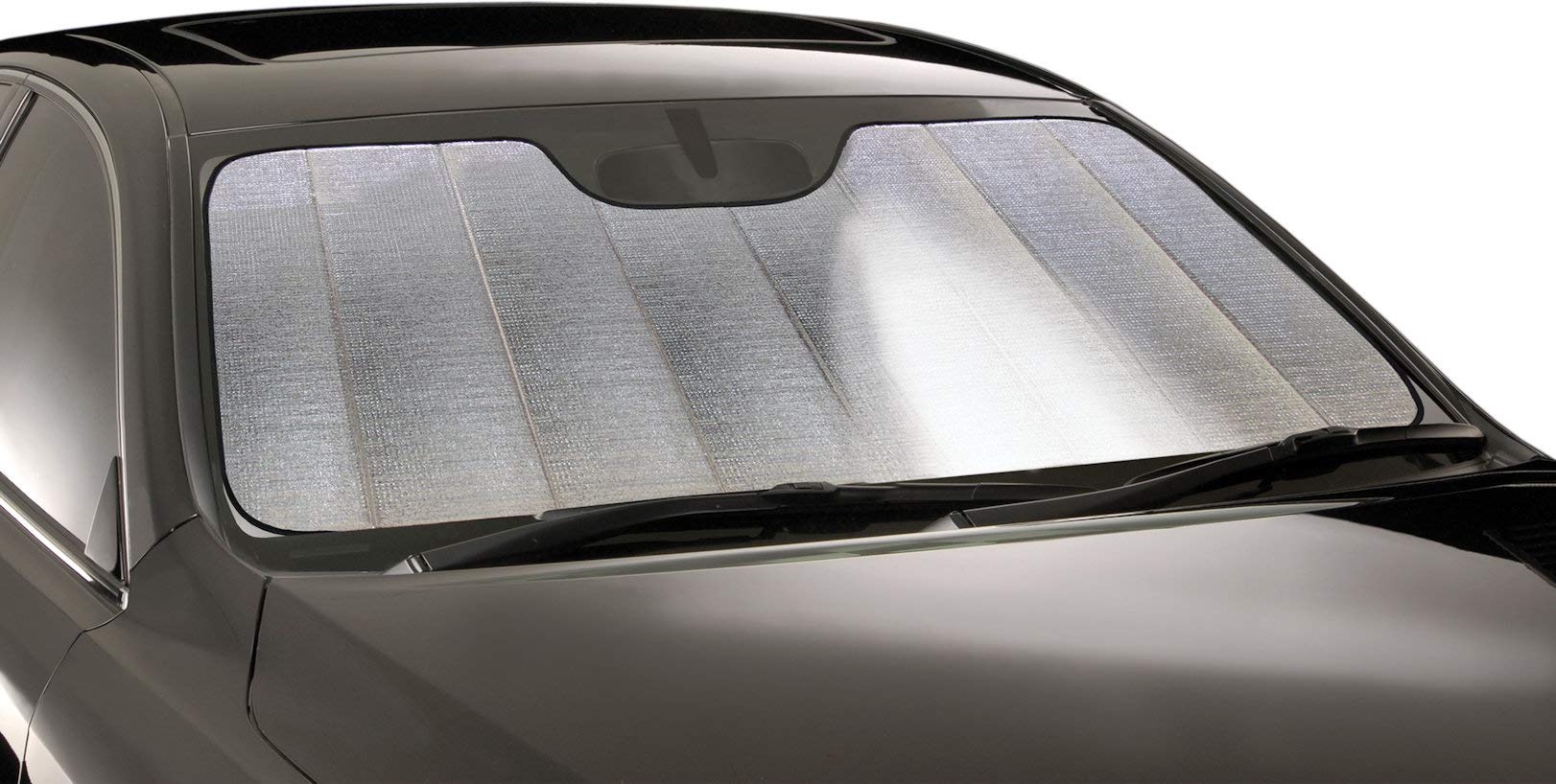 Intro-Tech BM-39-R Silver Ultimate Reflector Custom Fit Folding Windshield Sunshade for Select BMW 7 Series LWB Models